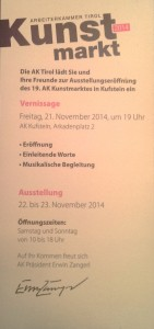 Einladung Kunstmarkt Arkadenplatz_1 2014-11-01