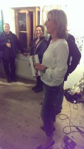 Frau Brigitte Kammerlander eröffnete die Veranstaltung