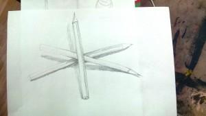 Bleistiftmikado