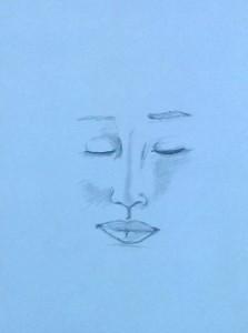 Lea Gesicht Bleistift 2015-01-29