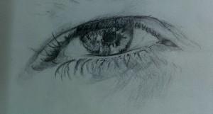 Ein weiters Auge mi Bleistift!
