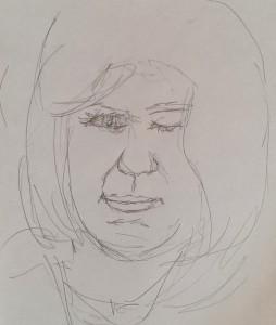Gesichter skribbeln 2015-02-19