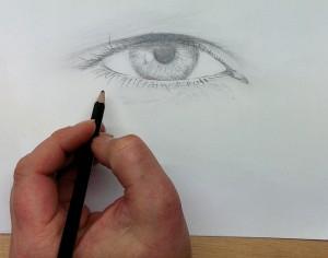 Ein Auge entsteht 2015-03-15