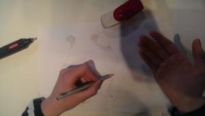 Kristin beim Zeichnen 2015-04-25