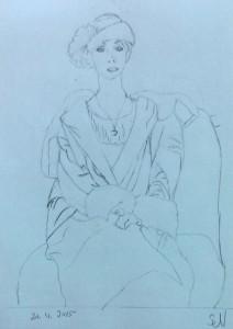 Silvie Umkehrzeichnung Picasso 2015-04-25