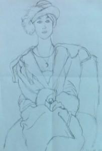 Stefanie Umkehrzeichnung Picasso 2015-04-25