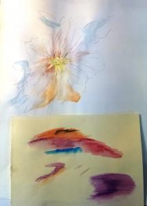 Blumen mit Lavierung 2015-05-20