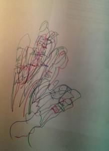 Doris Blind Hände Zeichnen 2015-06-18