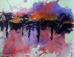 Lea abstrakte Landschaft 2015-07-02