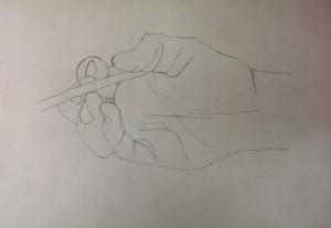 Annette Hand mit Stift 2015-10-13