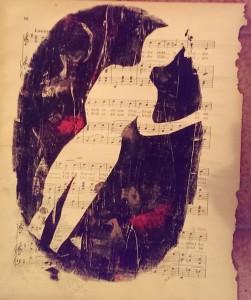 Erni Musiksilhouette