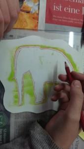 Lea Elefantenbemalung 2015-10-14