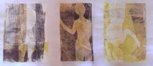 Menschliches Durcheinander Serie Gelatineplatte
