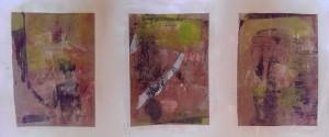 Serie Hände Gelatineplatte