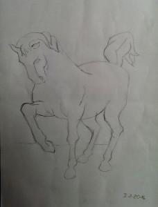 Birgit Umkehrzeichnung Pferd 2016-02-04