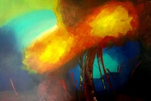 Eva eigenes abstraktes Bild 2016-02-02
