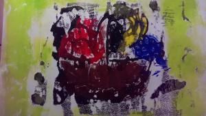 Hildegard Obstkorb abstrakt