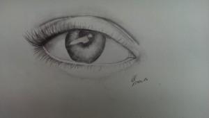 Lea Auge Bleistift 2016-02-17