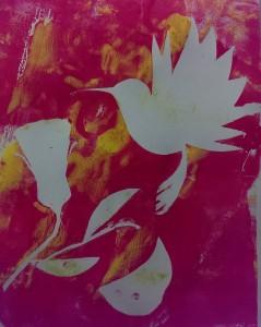 Melanie Serie Vögel und Blumen