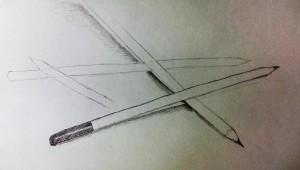 Bleistiftmikado Eva Beginn 2016-03-17