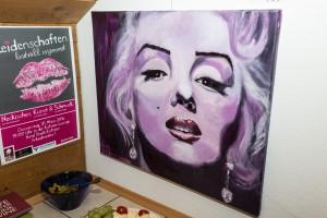 Marilyn mit Plakat 2016-03-18