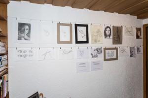 Zeichnungen Schüler Seminarraum 2016-03-18
