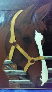 Birgit P Pferd unfertig