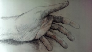 20147-05-02 Johanne Hand noch unfertig