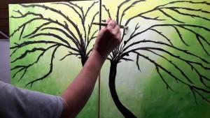 Magdalena Anfang Bäume