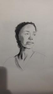 leonie Porträtskizzen