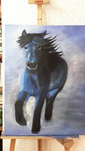 Eva Pferd noch unfertig