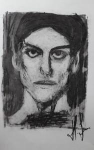 Helene Porträt Picasso fertig