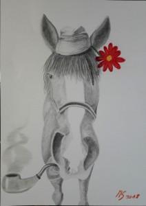 Manuela Pferd für Freundin
