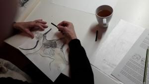 Marianne abstraktes WarmUp