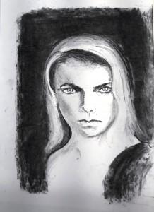 Susanne aus Skribbelübung porträt