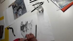 2018-05-16 Marianne Huskies werden lebendig