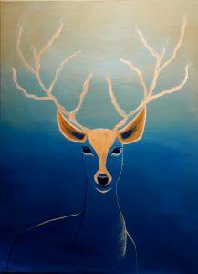 Animal Painting Portrait Painting Giclee Print Acrylic Painting