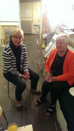 Meine Mutter und Helga Mühlmann