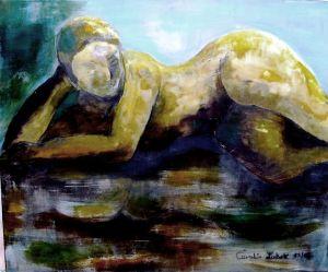 Elinika Acryl auf Leinwand 60x50