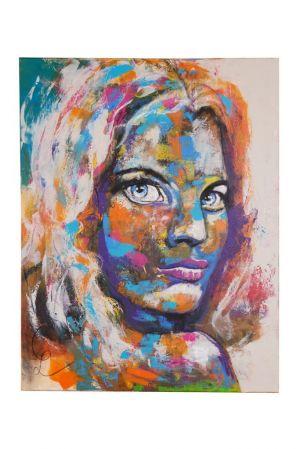 Druck auf Canvas 60x80 mit Guggenheimrahmen möglich